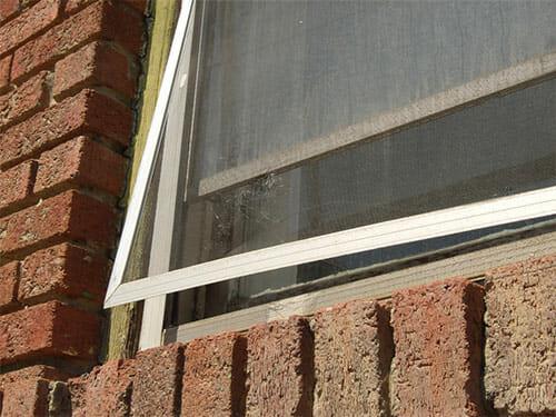 Window Screen Repair Needed