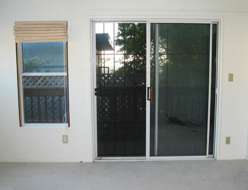 Sliding Screen Door installed by Shade My Home